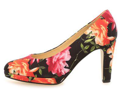 Gabor Fashion High Heel mit Blumenmuster